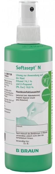B. Braun Softasept® N Hautdesinfektionsmittel - 250 ml (farblos)