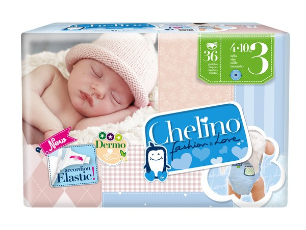 Attends Babywindeln Chelino T3 Tummies (4-10 Kg). Babywindeln und Kinderwindeln von Attends.