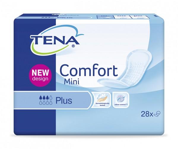 Tena Comfort Mini Plus bei mittlerer Inkontinenz und Blasenschwäche.