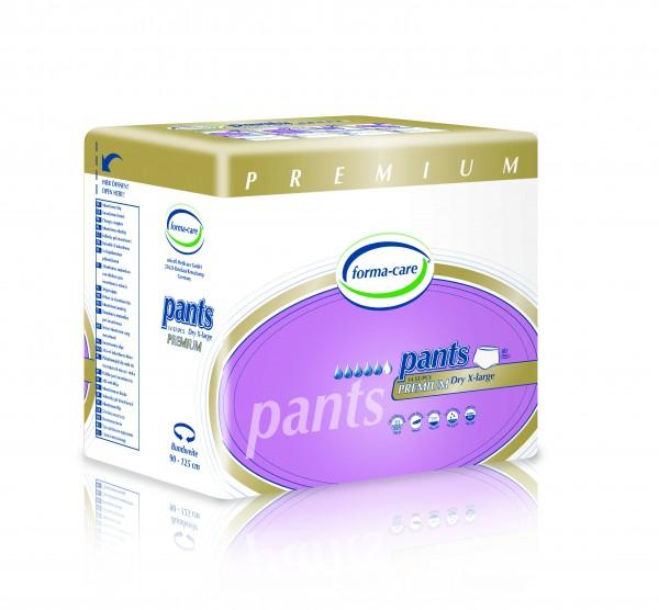 Forma-care Pants Premium Dry - Gr. X-Large (XL1) sind Windelhosen bei mittlerer bis schwerer Inkontinenz.