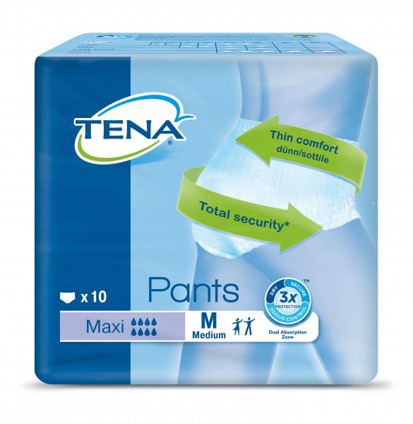 TENA Pants Maxi Medium - Inkontinenzhosen bei häufigen Harndrang und Blasenschwäche.