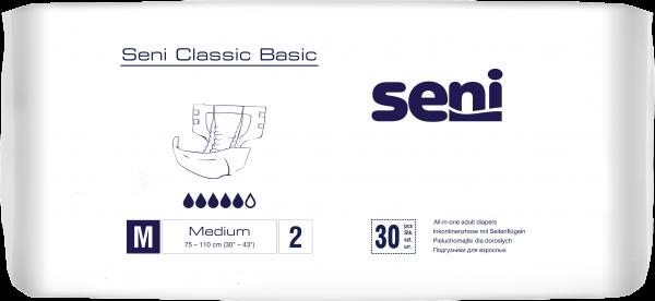 Seni Classic Basic Medium - Inkontinenzhosen von TZMO.