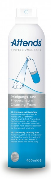 Attends Reinigungs- & Pflegeschaum - 400 ml - PZN 04202580