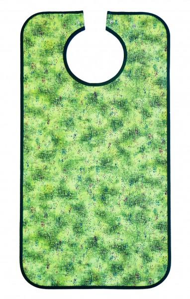 Suprima Ess-Schürze Polyester mit Druckknopfverschluss - Art 5582 - Lätzchen und Esslatz für Erwachsene.