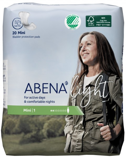 Abena Light Mini - Nr. 1 - Inkontinenzeinlagen bei Blasenschwäche.