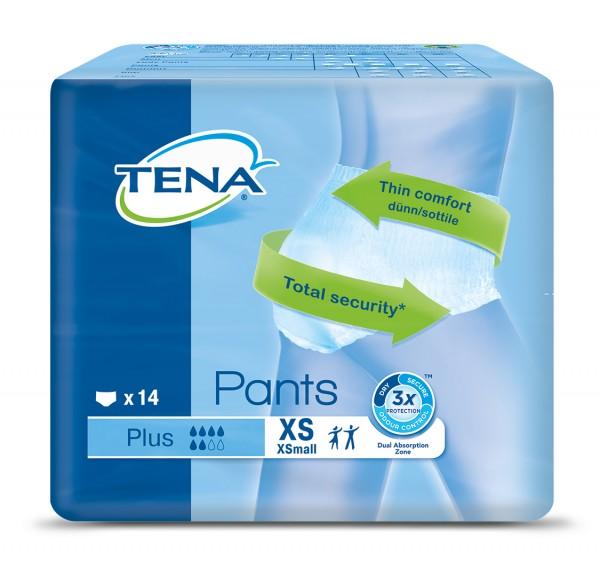 TENA Pants Plus Extra Small - Windelhosen bei Blasenschwäche und Harndrang.