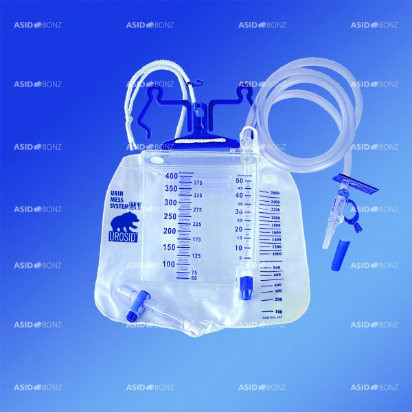 Asid Bonz Urin Mess-System M1, 2.600ml, 2-K/400ml, 150cm, steril - PZN 01804976