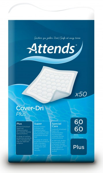Attends Cover-Dri Plus - 60x60 cm - PZN 01882924