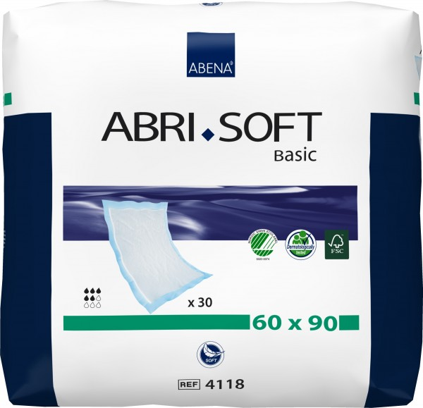 Abena Abri-Soft Basic Krankenunterlagen - 90 x 60 cm