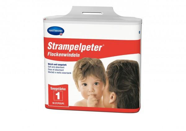 Strampelpeter® Flockenwindeln Saugstärke 1