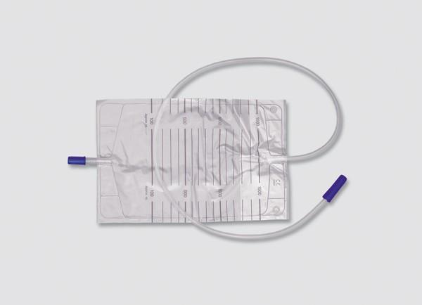 Dr. Junghans Medical Bettbeutel & Urinbeutel, 2000 ml, 90 cm - unsteril - PZN 07111990..