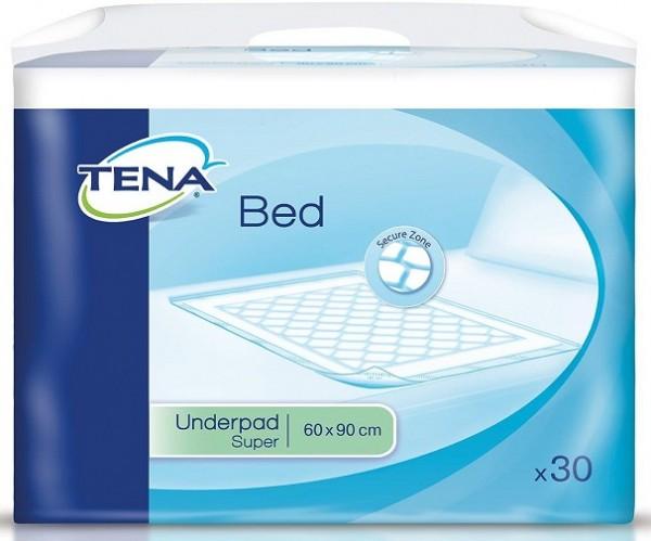 Tena Bed Super 90x60 cm Bettunterlagen und Krankenunterlagen von Essity Hygiene and Health AB.