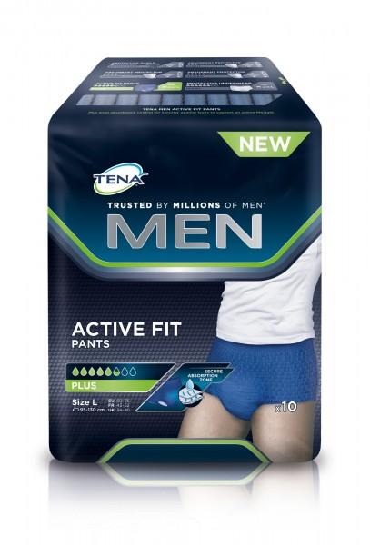 TENA MEN Active Fit Pants Large Inkontinenz-Pants für Männer.