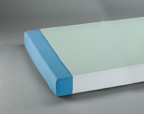 Suprima Mehrfachbettauflage mit Seitenteile - Art 3112 - Suprima Inkontinenzunterlagen & Krankenunterlagen.