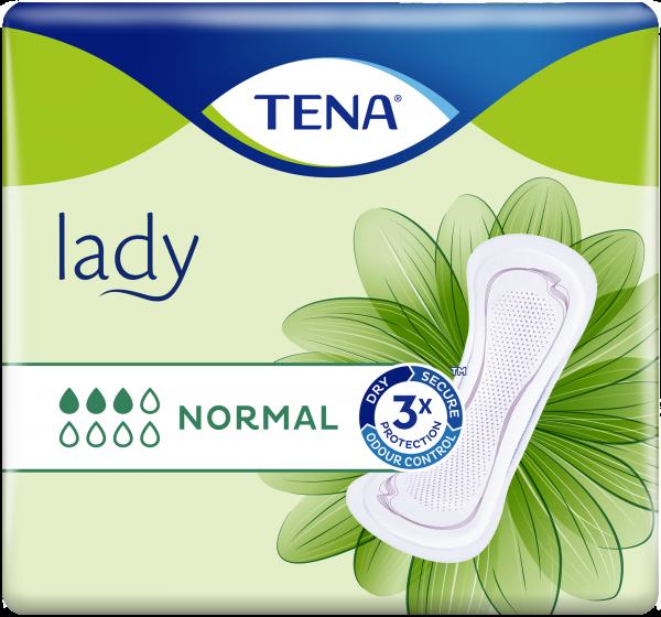 TENA Lady Normal Inkontinenz-Einlagen für Frauen.