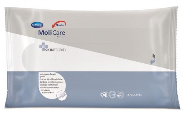 MoliCare® Skin Feuchte Waschhandschuhe