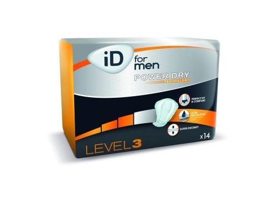 iD for Men Level 3 - Einlagen für Männer.