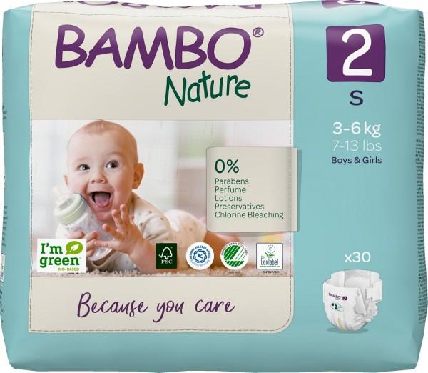 Abena Bambo Nature, 2, 3-6 kg - Babywindeln.