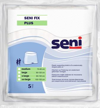 Seni Fix Plus Netzhosen Large - Fixierhosen für Inkontinenz Vorlagen von Seni.