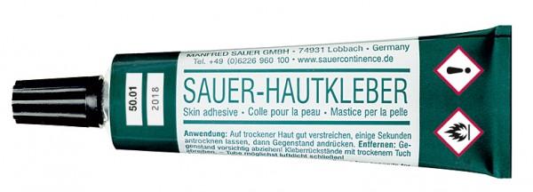 Latex SAUER-Hautkleber – Original - 2×28 g - Urinalkondome und Kondomurinale von Manfred Sauer.
