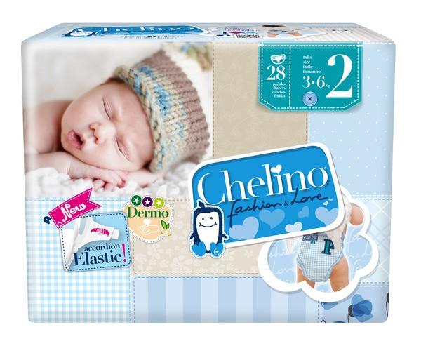 Attends Babywindeln Chelino T2 New Born (3-6 Kg). Babywindeln und Kinderwindeln von Attends.
