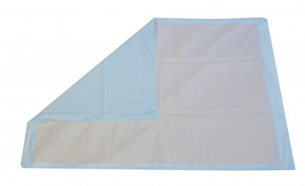 Forma-Care Unizell Krankenunterlagen 12-lagig - 90x60 cm. Saugende Bettschutzeinlagen, Bettauflagen und Krankenunterlagen aus Zellstoff.