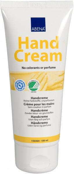 Abena Skincare - 100ml - Handcreme parfumfrei, 35% Fettgehalt