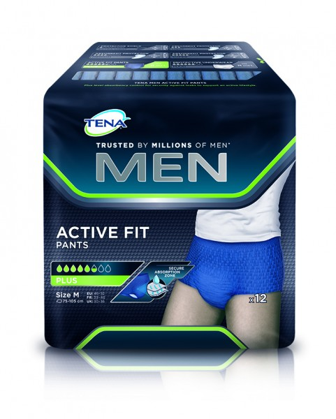 Tena Men Active Fit Pants Plus.