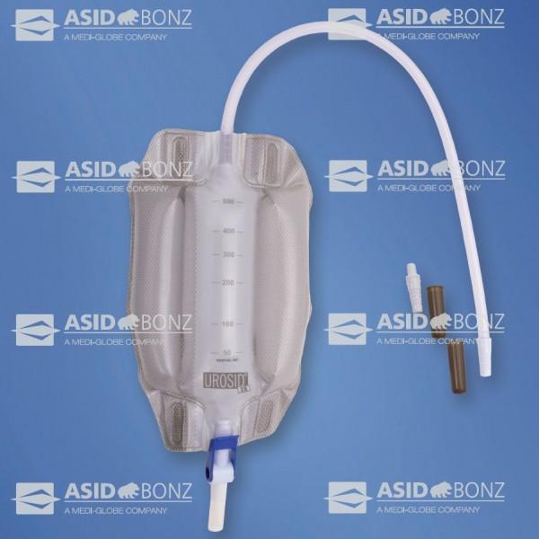 Asid Bonz Beinbeutel 3K, 500 ml, steril 50 cm, kürzbar, Klappventil - PZN 01178409