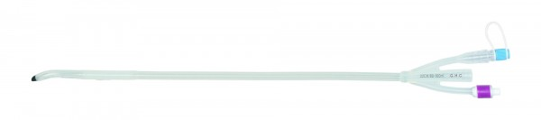 GHC CARE FLOW. Transurethrale 100% Silikonspülkatheter 3-Wege Ballonkatheter mit Dufourspitze.