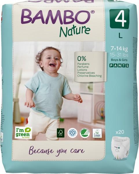 Abena Bambo Nature, Pants 4, 7-14 kg - Babywindeln.