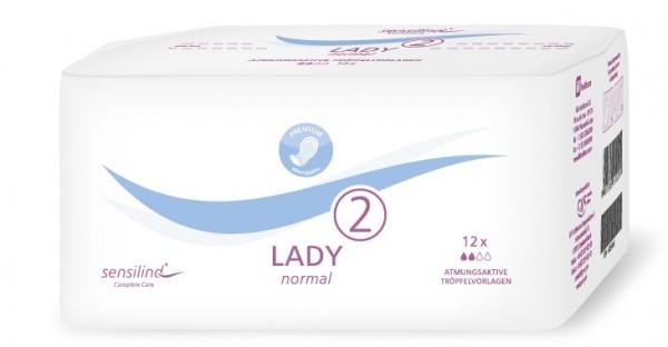 Sensilind Lady Normal 2. Saugstarke Inkontinenzeinlagen bei Blasenschwäche.