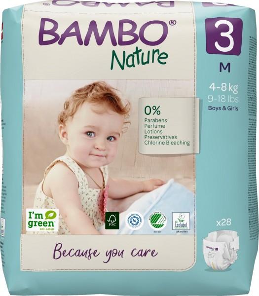 Abena Bambo Nature, 3, 4-8 kg - Babywindeln.