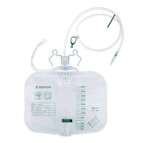 B. Braun steriler Urinbeutel zum postoperativen Einsatz, 4000 ml, 100 cm - Urinbeutel - PZN 12742793.
