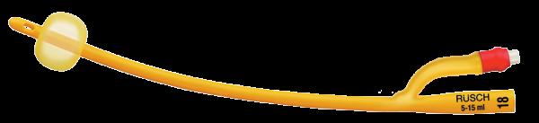 Teleflex Rüsch Gold Ballonkatheter - zylindisch, 2-Augen, - 25cm