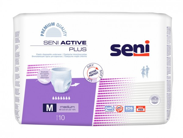 Seni Active Plus Medium - Inkontinenzhose von TZMO.
