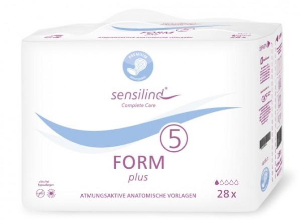 Sensilind Form Plus 5. Saugstarke Inkontinenzvorlagen bei Blasenschwäche.