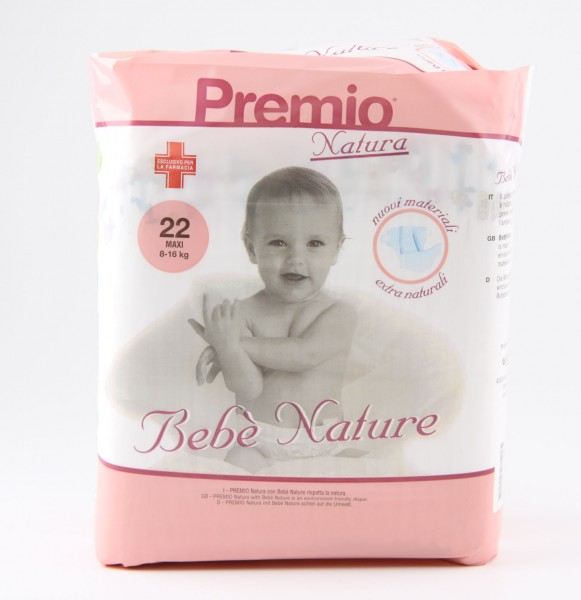 Bebé Nature maxi (8-16 kg) - Babywindeln von Care-Integral.