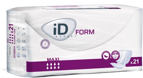 iD Expert Form Maxi Inkontinenz-Vorlagen von Ontex.
