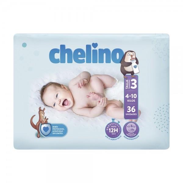 Indas Babywindeln Chelino T3 Tummies (4-10 Kg).