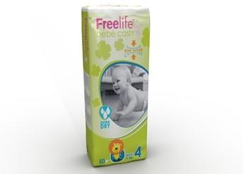 Babywindeln BébéCash-Freelife - Maxi 7-18 kg von Ontex Healthcare Deutschland GmbH.