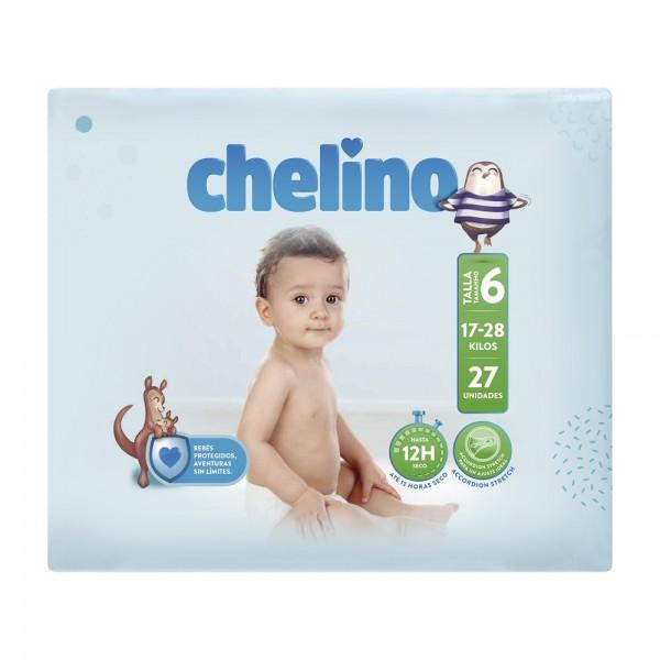 Indas Chelino T6 Junior (17-28 Kg) - Babywindeln.