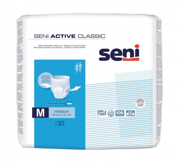 Seni Active Classic Medium - Inkontinenzslip von TZMO.