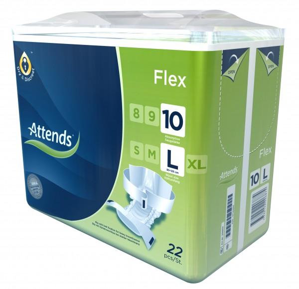 Attends Flex 10 - Gr. Large