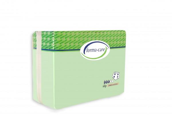 Forma-care Slip Comfort Large Tag (L1) sind saugstarke Windelhosen bei mittlerer bis schwerster Inkontinenz.