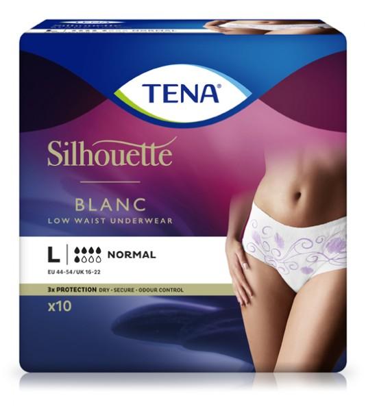 TENA Silhouette Normal Blanc Large
