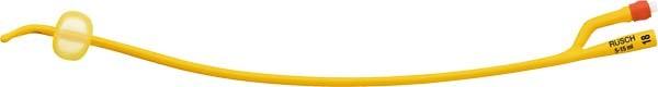 Teleflex Rüsch Gold - zylindisch, 2-Augen, - 30cm