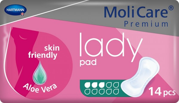 MoliCare Premium lady pad 3 Tropfen - Inkontinenzeinlagen von Hartmann.