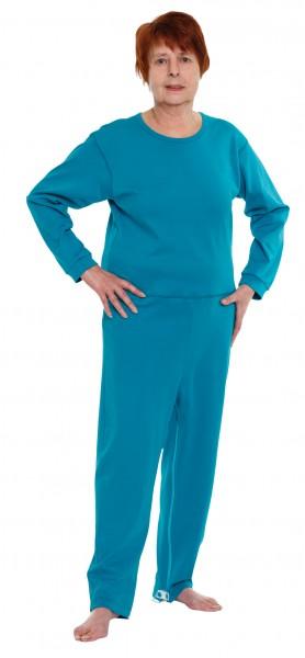 Suprima CareFunction Pflegeoverall Kurzgröße, mit Beinreißverschluss Art. 4682 - Pflegeoveralls von Suprima.