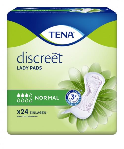 Tena Lady Discreet Normal bei leichter Harninkontinenz & Blasenschwäche.